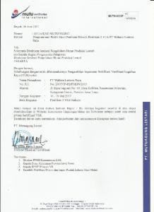 PT MUTUAGUNG LESTARI RESUME HASIL AUDIT ASSESSMENT LEGALITAS KAYU