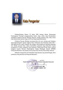 Purwokerto, Juli 2013 Juni Kepala Dinas Peternakan dan Perikanan Kabupaten Banyumas. Ir. H. SUGIYATNO, MM NIP