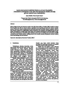 RANCANG BANGUN SISTEM PENJUALAN DAN TRANSFER VOUCHER ELEKTRONIK DARI SUB DEALER (SD) KE RESELLER (RS) (STUDI KASUS PADA FASTRONIC)