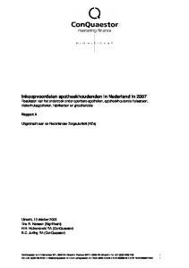 Rapport A. Uitgebracht aan de Nederlandse Zorgautoriteit (NZa)