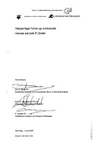 Rapportage follow up onderzoek nieuwe aanpak P-Direkt