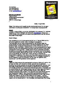 R.A.Verlinden Van Speykstaat VE Rotterdam
