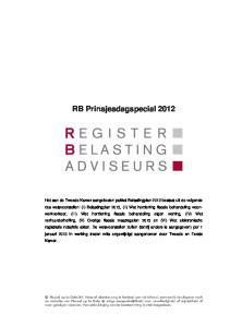RB Prinsjesdagspecial 2012