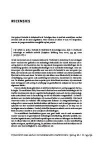 RECENSIES. tijdschrift voor sociale en economische geschiedenis 1 [2004] nr.1 pp