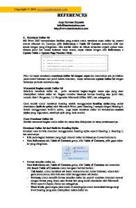 REFERENCES. Asep Herman Suyanto