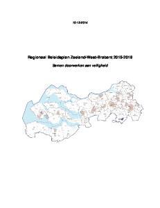 Regionaal Beleidsplan Zeeland-West-Brabant