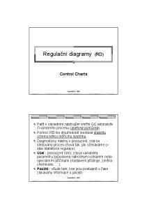 Regulační diagramy (RD)