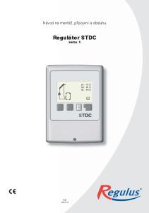 Regulátor STDC verze 1