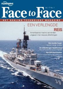 Reis. Amerikaanse marine vermindert uitgaven met nieuwe afdichtingen. Vol. 17 No. 1. H e t S e a l i n g T e c h n o l o g y M a g a z i n e