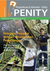 Relevansi Prosedur dengan Keselamatan Penerbangan. The Relevance of Procedures to Aviation Safety
