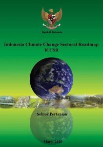 Republik Indonesia. Sektor Pertanian