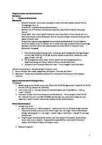 Ringkasan bahan ajar Kontekstualisasi Haselgrave I. Pengantar Kontekstual: Didalam PL. Kegiatan Kontekstual di Perjanjian Baru