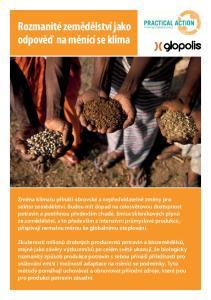 Rozmanité zemědělství jako odpověď na měnící se klima