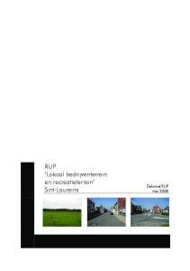 RUP Lokaal bedrijventerrein en recreatieterrein Sint-Laureins