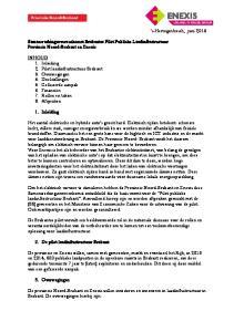 s-hertogenbosch, juni 2013 Samenwerkingsovereenkomst Brabantse Pilot Publieke Laadinfrastructuur Provincie Noord-Brabant en Enexis