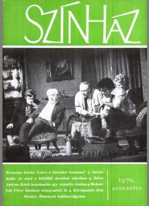 S Z Á N T Ó J U D I T Az évad a külföldi darabok tükrében (7) BŐGEL J Ó Z S E F A vidéki színházi fesztiválokról (11) magyar játékszín