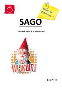 SAGO. Dominiek Savio & Maria Goretti