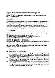 Samenvatting. 1. Procedure