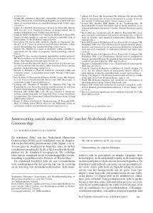 Samenvatting van de standaard Jicht van het Nederlands Huisartsen Genootschap