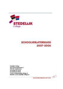 SCHOOLVERLATERSGIDS