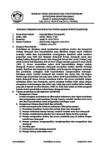 SEKOLAH TINGGI KEGURUAN DAN ILMUPENDIDIKAN (STKIP) PGRI SUMATERA BARAT Alamat: Jl. Gunung Pangilun Padang Telp. (0751) Fax (0751)