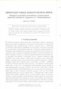 semioticke funkce konceptualniho rámce