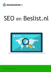 SEO en Beslist.nl. Copyright Starteenwinkel.nl