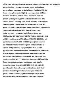 sex. bankovní ctvi - money gram v kadani - mesta kde jsou banky gemoney bank - moneygram cz - banka litomysl - kod banky city