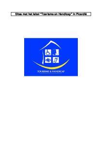 Sites met het label Toerisme en Handicap in Picardië