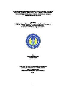 SKRIPSI Diajukan Kepada Fakultas Teknik Universitas Negeri Yogyakarta Untuk Memenuhi Sebagian Persyaratan Guna Memperoleh Gelar Sarjana Pendidikan