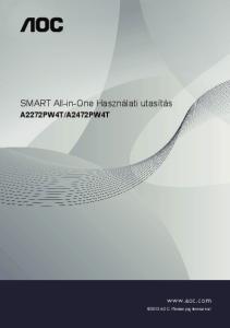 SMART All-in-One Használati utasítás
