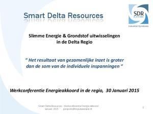 Smart Delta Resources