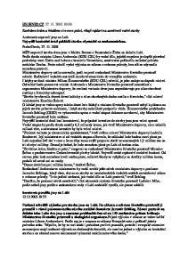 Snemovna povolila jezy na Labi :55
