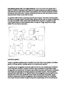 Soal psikotes gambar atau Tes Logika Penalaran