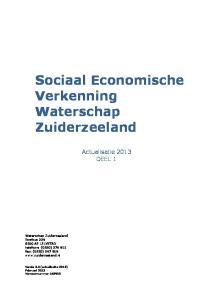 Sociaal Economische Verkenning