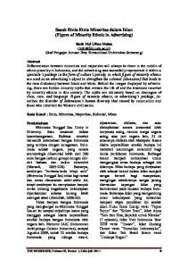 Sosok Etnis-Etnis Minoritas dalam Iklan (Figure of Minority Ethnic in Advertising)