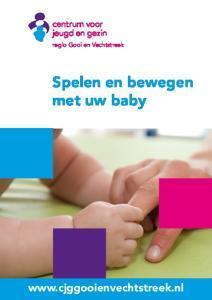 Spelen en bewegen met uw baby