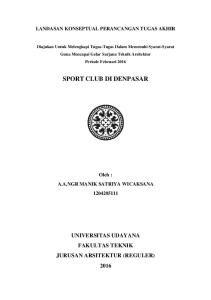 SPORT CLUB DI DENPASAR