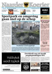 Sportpark en omgeving gaan snel op de schop door Lisa van Dorp