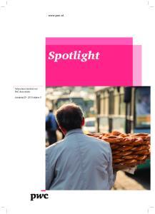 Spotlight Vaktechnisch bulletin van PwC Accountants Jaargang uitgave 3