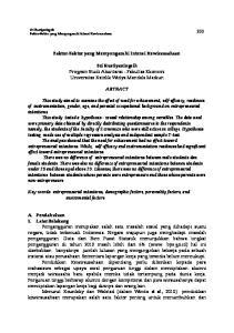 Sri Rustiyaningsih Program Studi Akuntansi - Fakultas Ekonomi Universitas Katolik Widya Mandala Madiun ABTRACT