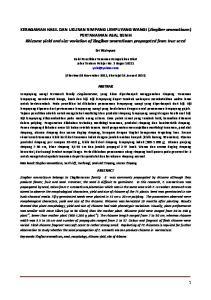 Sri Wahyuni. (diterima 06 November 2012, disetujui 14 Januari 2013) ABSTRAK ABSTRACT