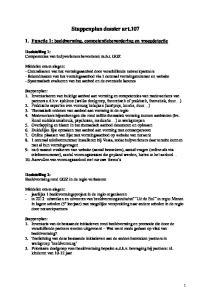 Stappenplan dossier art.107