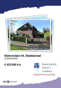 Stationslaan 44, Stadskanaal STADSKANAAL k.k