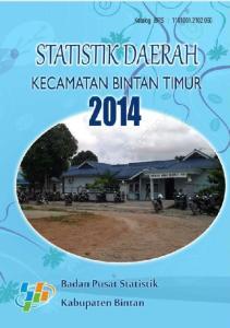 Statistik Daerah Kabupaten Bintan