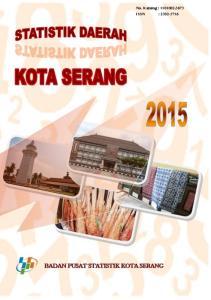 STATISTIK DAERAH KOTA SERANG 2015
