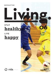 STAY. healthy APRIL LIVE. happy