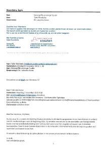 steaten Noordstra, lepie Statengriffie provinsje Frysln Tjitte Wierdsma RE: subsidies koren