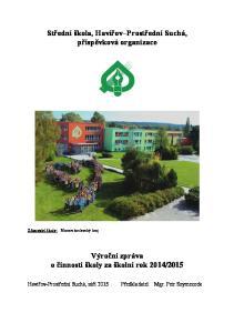 Střední škola, Havířov Prostřední Suchá, příspěvková organizace