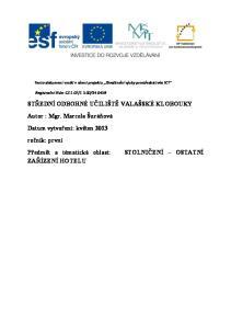 STŘEDNÍ ODBORNÉ UČILIŠTĚ VALAŠSKÉ KLOBOUKY - PDF Free Download 278f238f44